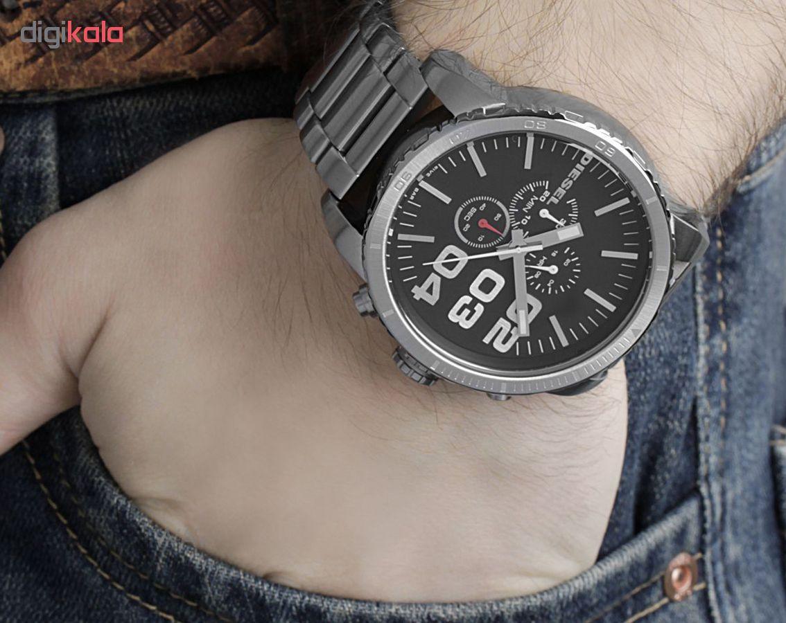 ساعت مچی عقربه ای مردانه دیزل کد DZ4209