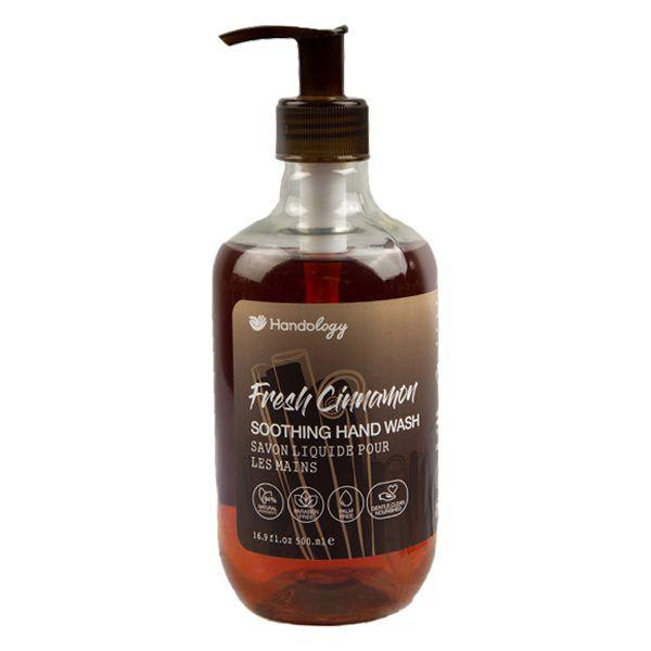 مایع دستشویی هندولوژی مدل Fresh Cinnamon حجم 500 میلی لیتر
