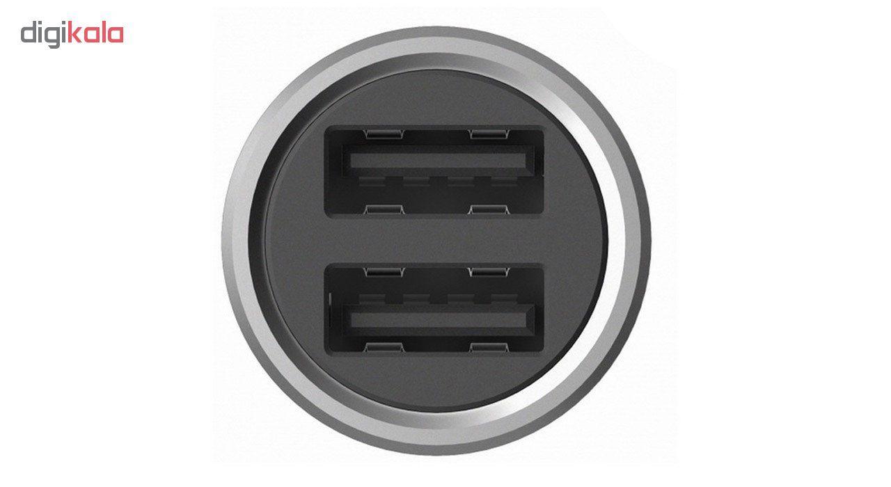 شارژر فندکی شیاومی مدل   CZCDQ02ZM QC3.0 فست شارژ دارای پورت USB-C main 1 4
