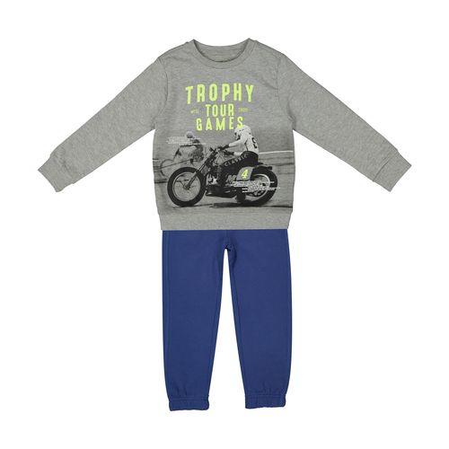 ست تی شرت و شلوار پسرانه او وی اس مدل 101001