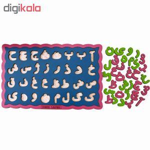 بازی آموزشی دنا لیزر طرح حروف الفبای فارسی کدssa02