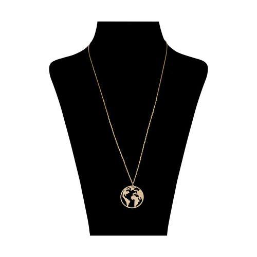 گردنبند طلا 18 عیار زنانه گرامی گالری مدل N057