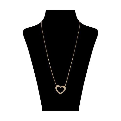 گردنبند طلا 18 عیار زنانه گرامی گالری مدل N059
