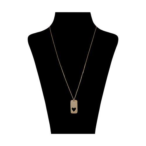 گردنبند طلا 18 عیار زنانه گرامی گالری مدل N054