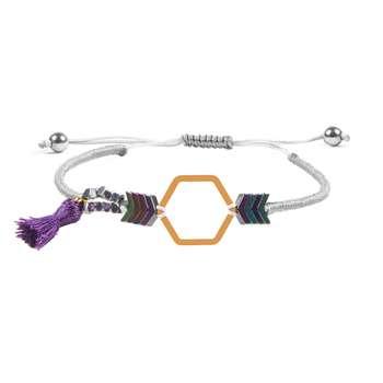 دستبند طلا 18 عیار زنانه ریسه گالری کد Ri3-H1173