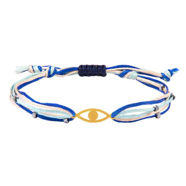 دستبند طلا 18 عیار زنانه ریسه گالری کد Ri3-1172