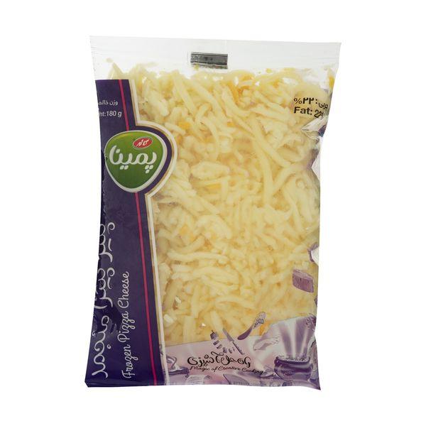 پنیر پیتزا منجمد پمینا مقدار 180 گرم