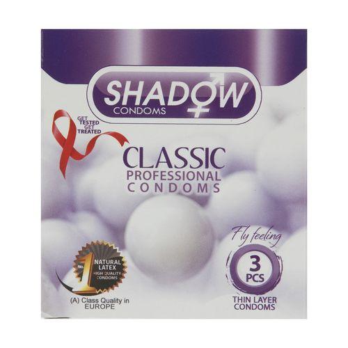 کاندوم شادو مدل Classic بسته 3 عددی