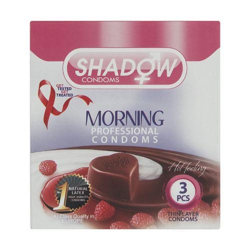 کاندوم شادو مدل Morning بسته 3 عددی