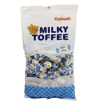 تافی شیری کازیوه مقدار 1 کیلو گرم