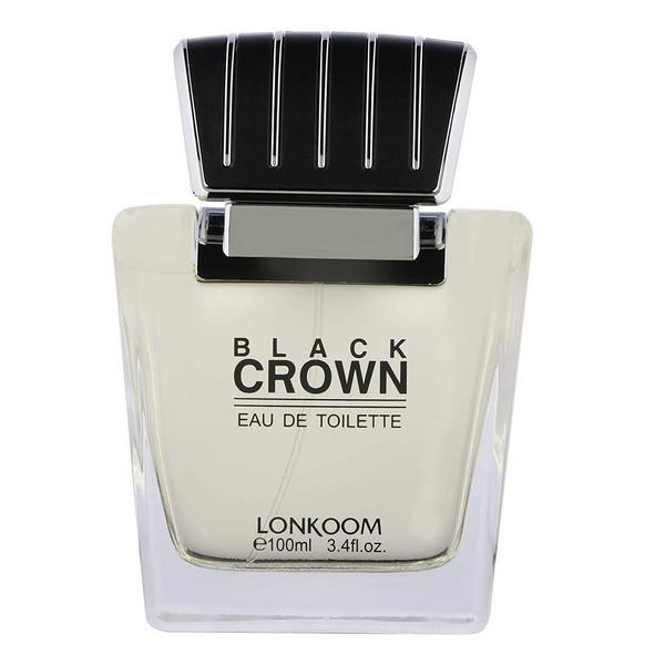 ادو تویلت مردانه لنکوم مدل Black Crown حجم 100 میلی لیتر