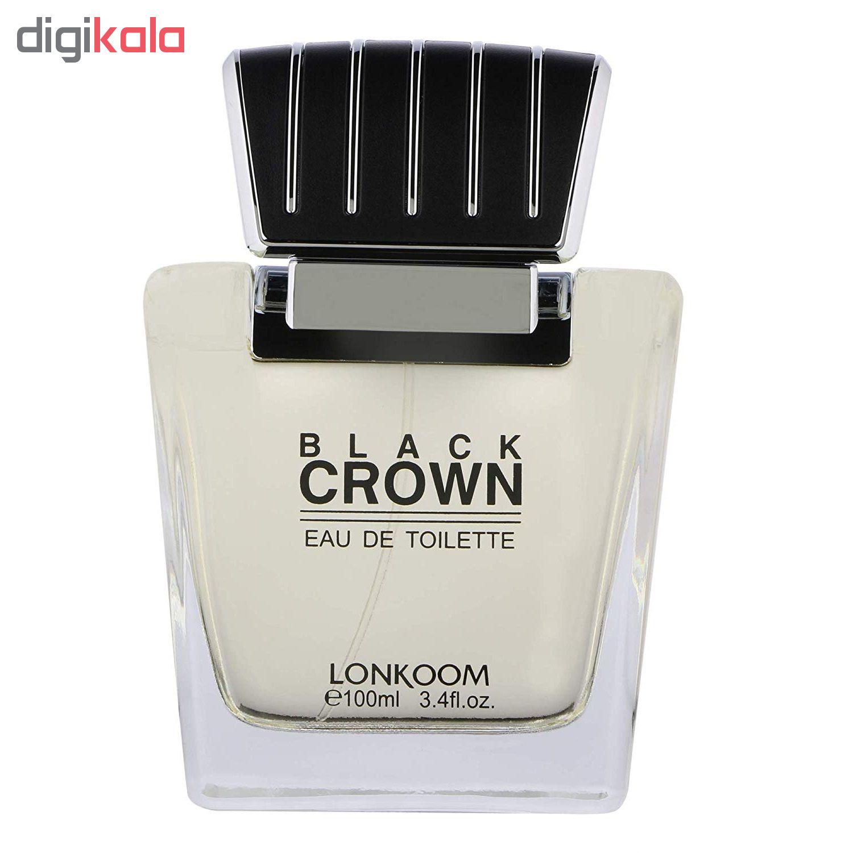 ادو تویلت مردانه لنکوم مدل Black Crown حجم 100 میلی لیتر main 1 2