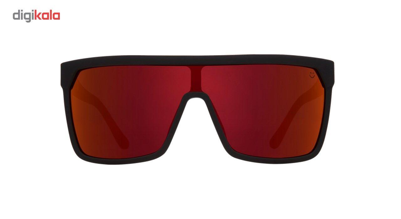 عینک آفتابی اسپای سری Flynn مدل Soft Matte Black Red Fade Happy Gray Green Red Flash -  - 2