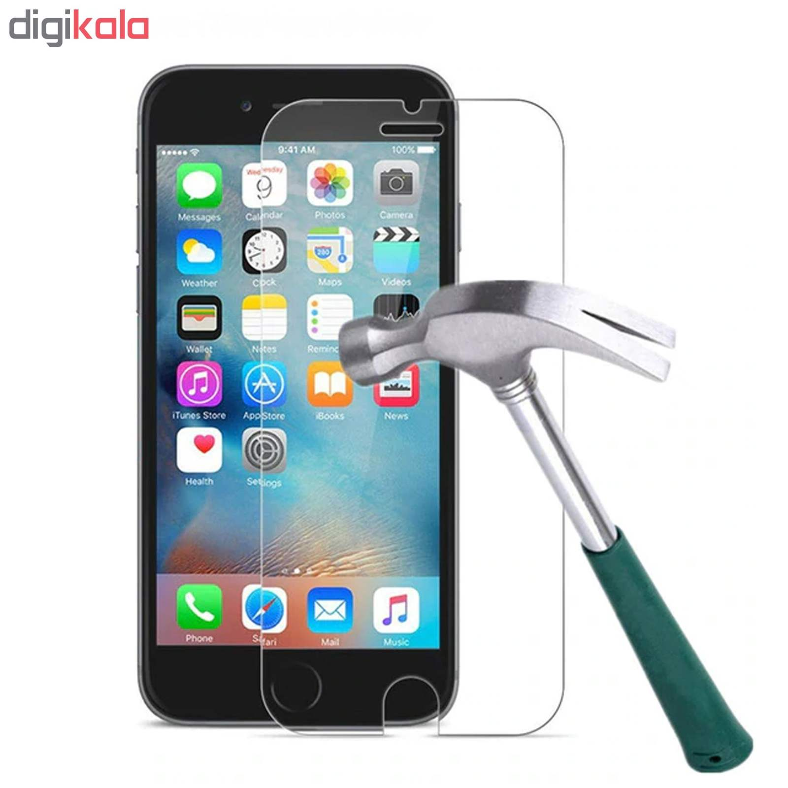 محافظ صفحه نمایش و پشت گوشی اسپایدر مدل S-TMP002 مناسب برای گوشی موبایل اپل iPhone 6 Plus / 6S Plus main 1 1