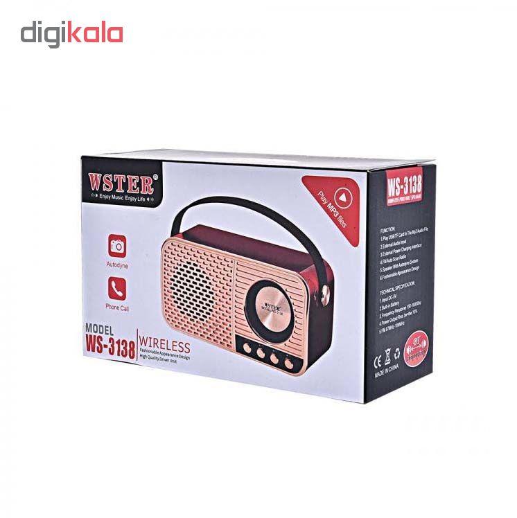 رادیو وستر مدل TB WS3138