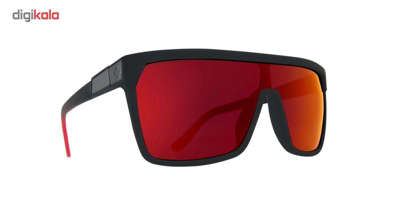 عینک آفتابی اسپای سری Flynn مدل Soft Matte Black Red Fade Happy Gray Green Red Flash -  - 4