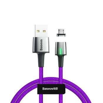 کابل تبدیل USB به microUSB  باسئوس مدل Zinc -طول 2 متر