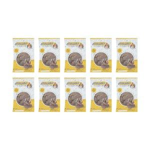 کره بادام زمینی شکلاتی دکتر بادام بسته 10 عددی