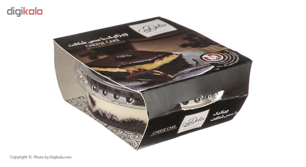 چیز کیک با سس شکلات کاله مقدار 80 گرم main 1 1