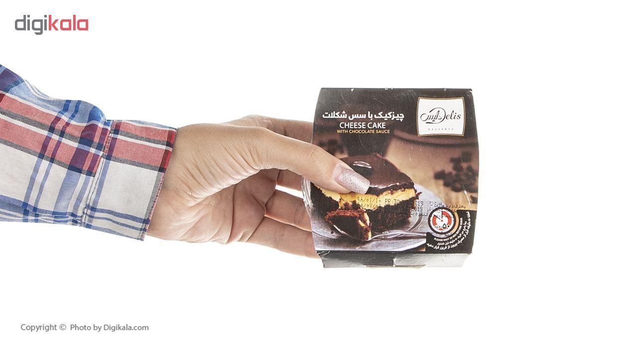 چیز کیک با سس شکلات کاله مقدار 80 گرم main 1 5
