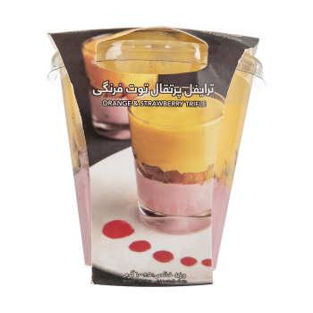 ترایفل پرتقال و توت فرنگی کاله مقدار 100 گرم