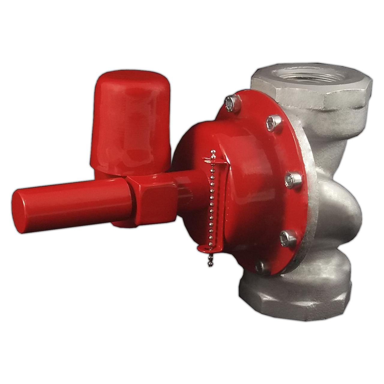 دستگاه قطع کن اتوماتیک جریان گاز زلزله طنین توسعه پارس مدل UD1E2P