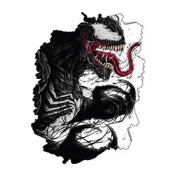 برچسب بدنه خودرو گراسیپا طرح Big Venom کد ۰۱
