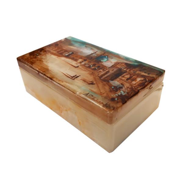 جعبه سنگی طرح میدان نقش جهان کد 30127-6