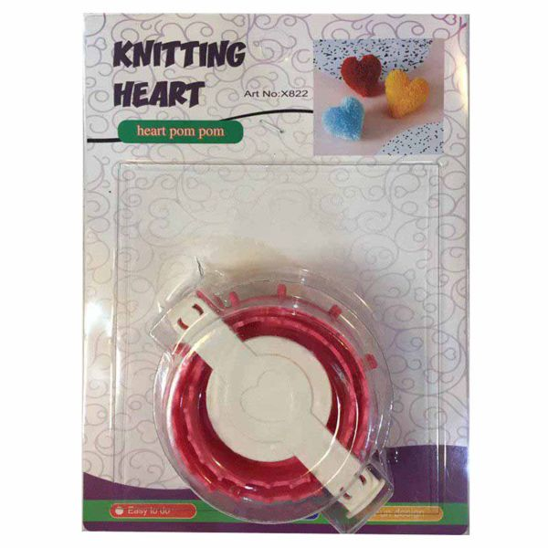 دستگاه منگوله زن طرح قلبی کد 102