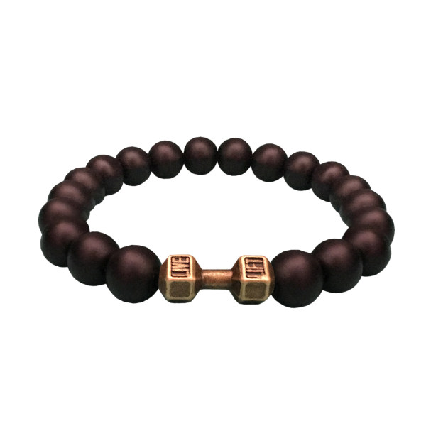 دستبند مردانه طرح دمبل کد DA01