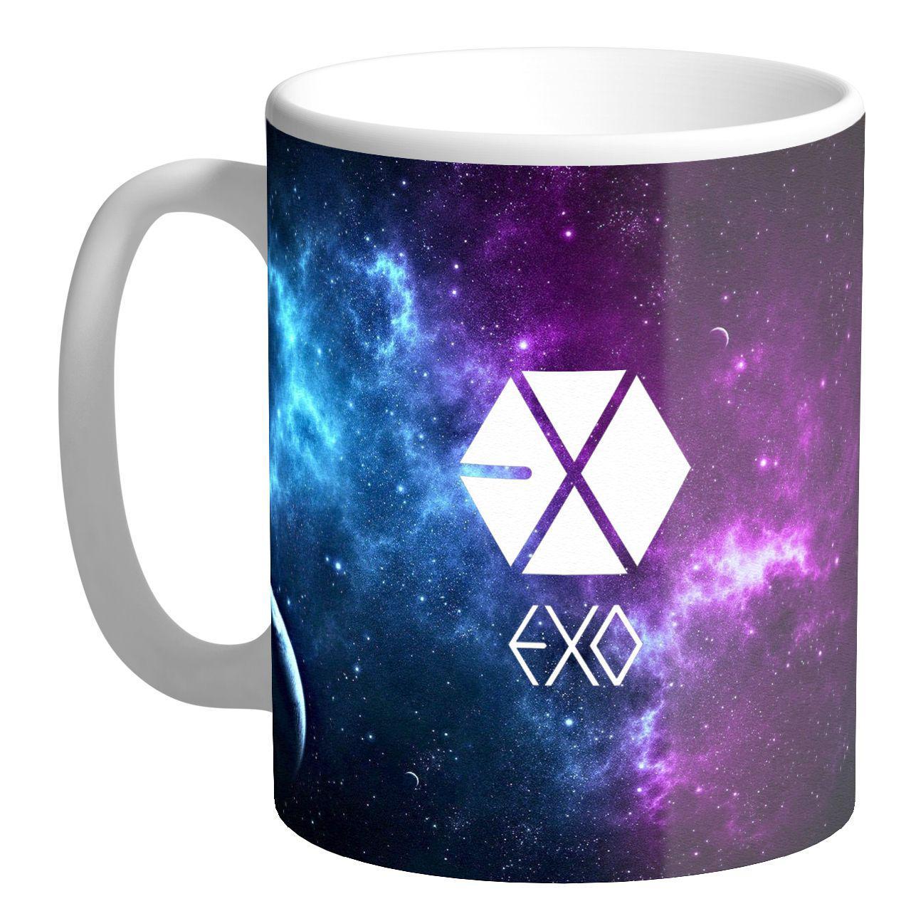 ماگ  طرح Exo کهکشانی کد AB116