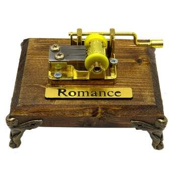 جعبه موزیکال ایل تمپو فلیچیتا مدل ROmanCe-G0ld100
