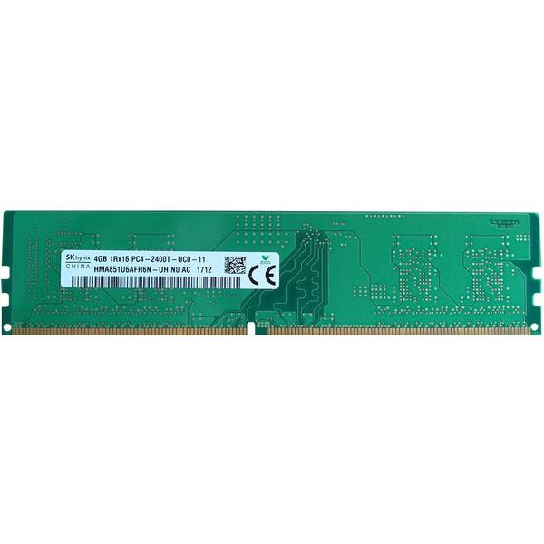 رم دسکتاپ  DDR4 تک کاناله 2400 مگاهرتز CL17 اس کی هاینیکس مدل HMA851U6AFR6N-UH ظرفیت 4 گیگابایت
