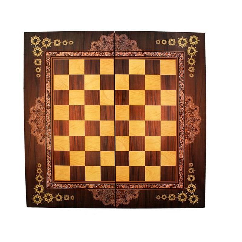 صفحه شطرنج طرح خاتم کاری کد 611