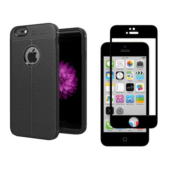 کاور اییبزا مدل ATOG7 مناسب برای گوشی موبایل اپل Iphone 6/6s به همراه محافظ صفحه نمایش 9D