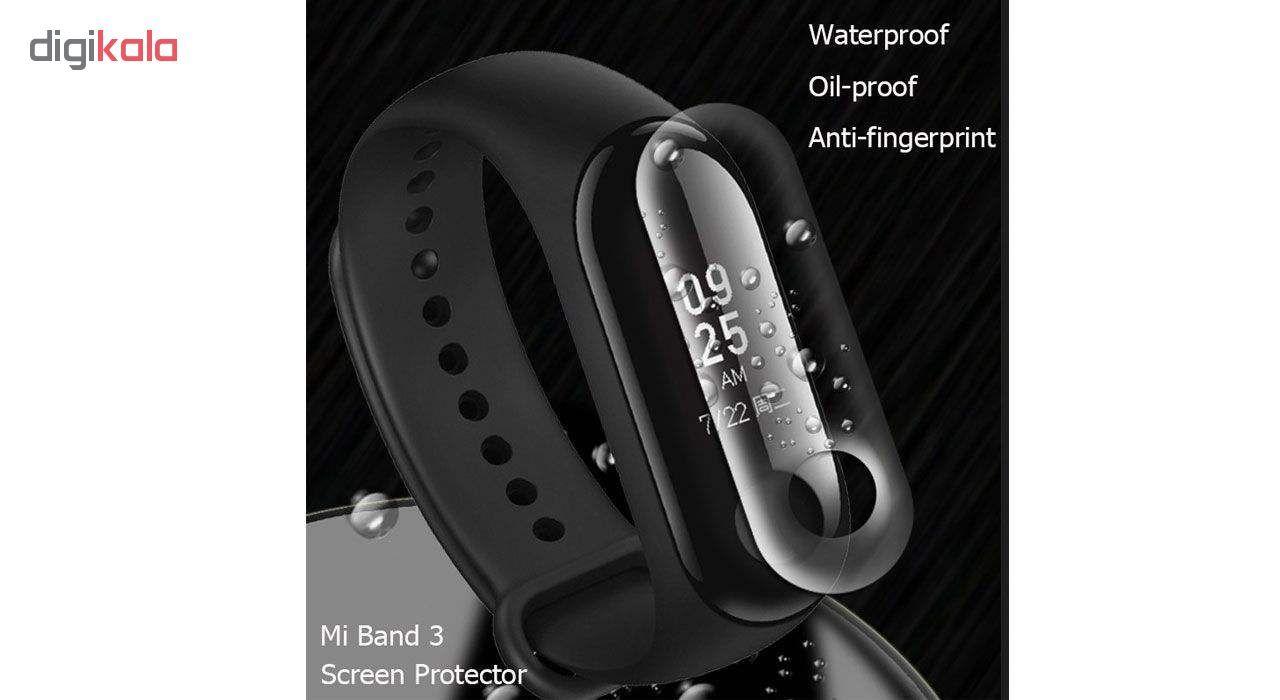 محافظ صفحه نمایش لاین مدل RB007 مناسب برای مچ بند هوشمند شیائومی Mi Band 3 بسته دو عددی main 1 7