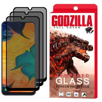 محافظ صفحه نمایش حریم شخصی گودزیلا مدل GGP مناسب برای گوشی موبایل سامسونگ Galaxy A70 بسته 3 عددی