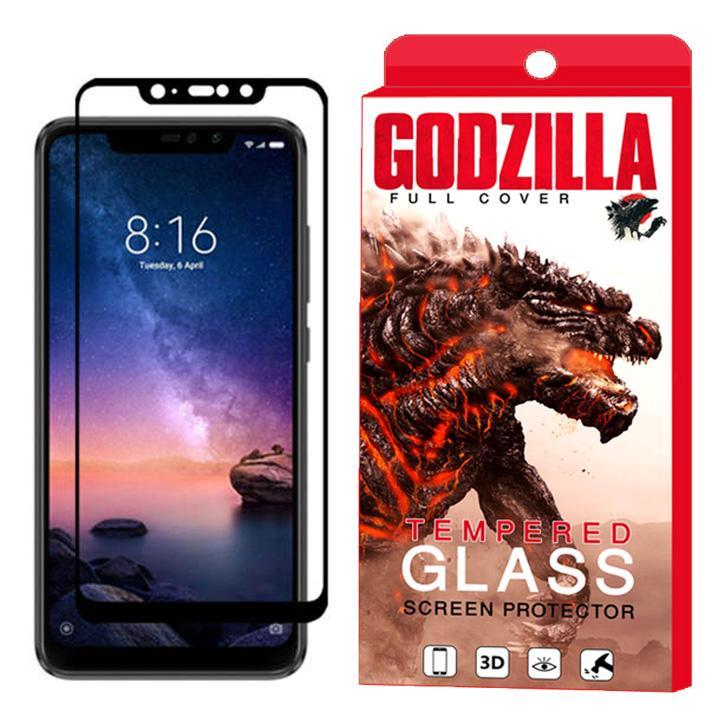 محافظ صفحه نمایش گودزیلا مدل GGF مناسب برای گوشی موبایل شیائومی Redmi Note 6 Pro