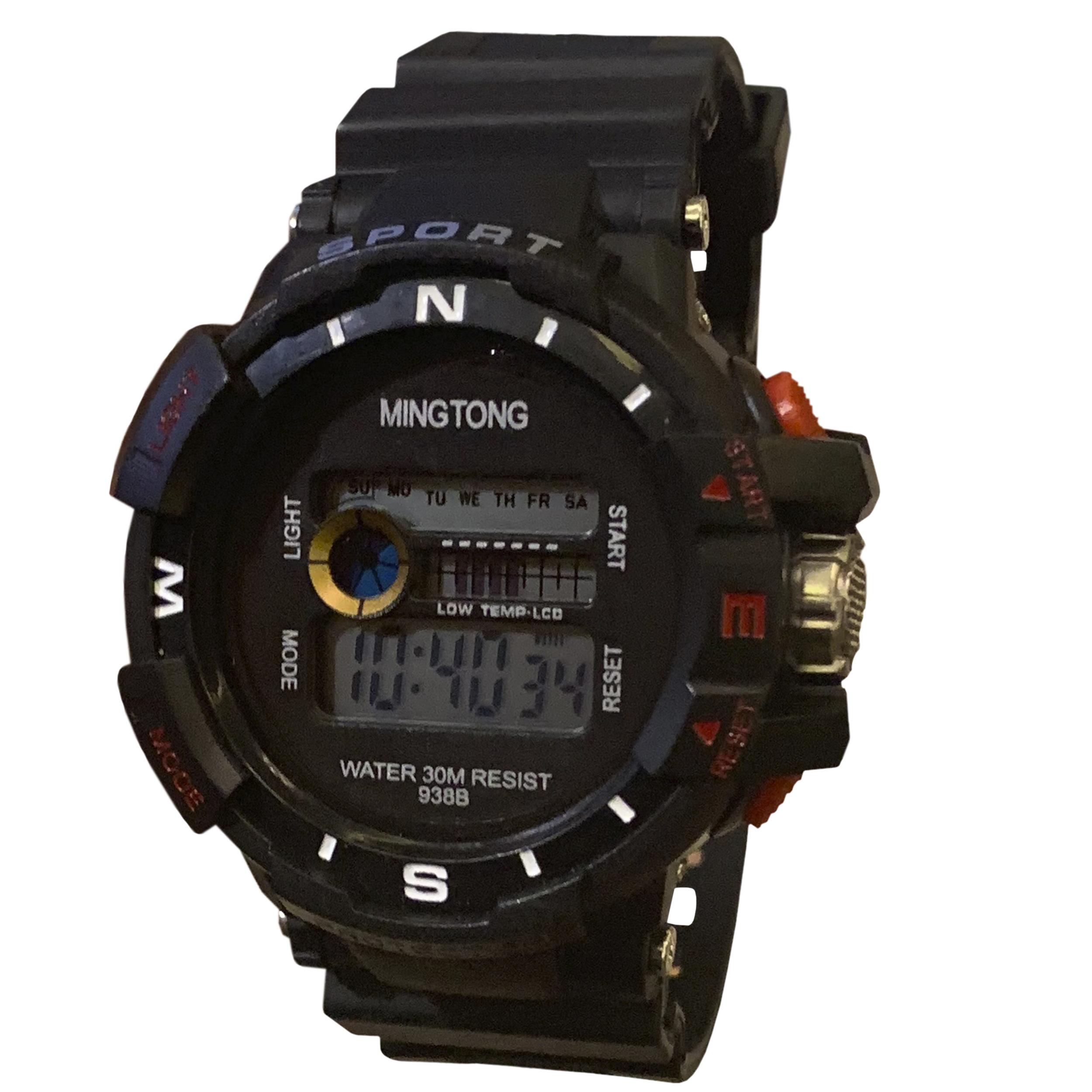 کد تخفیف                                      ساعت مچی دیجیتال مردانه مینگ تانگ کد B21