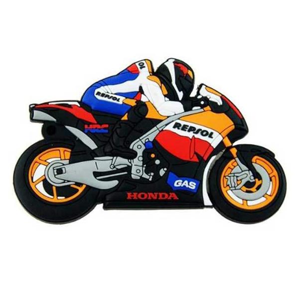 بررسی و {خرید با تخفیف}                                     فلش مموری طرح موتور سیکلت مدل Ul-Pv-Ho01 ظرفیت 16 گیگابایت                             اصل