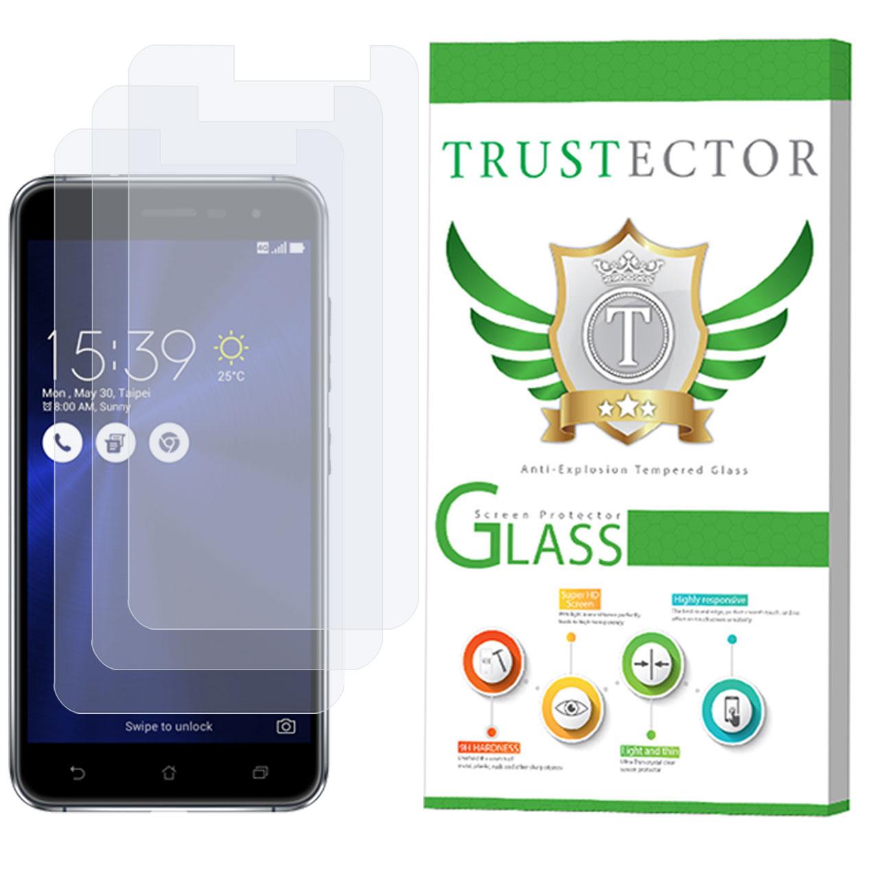 محافظ صفحه نمایش تراستکتور مدل GLS مناسب برای گوشی موبایل ایسوس Zenfone 3 ZE520KL بسته 3 عددی              ( قیمت و خرید)