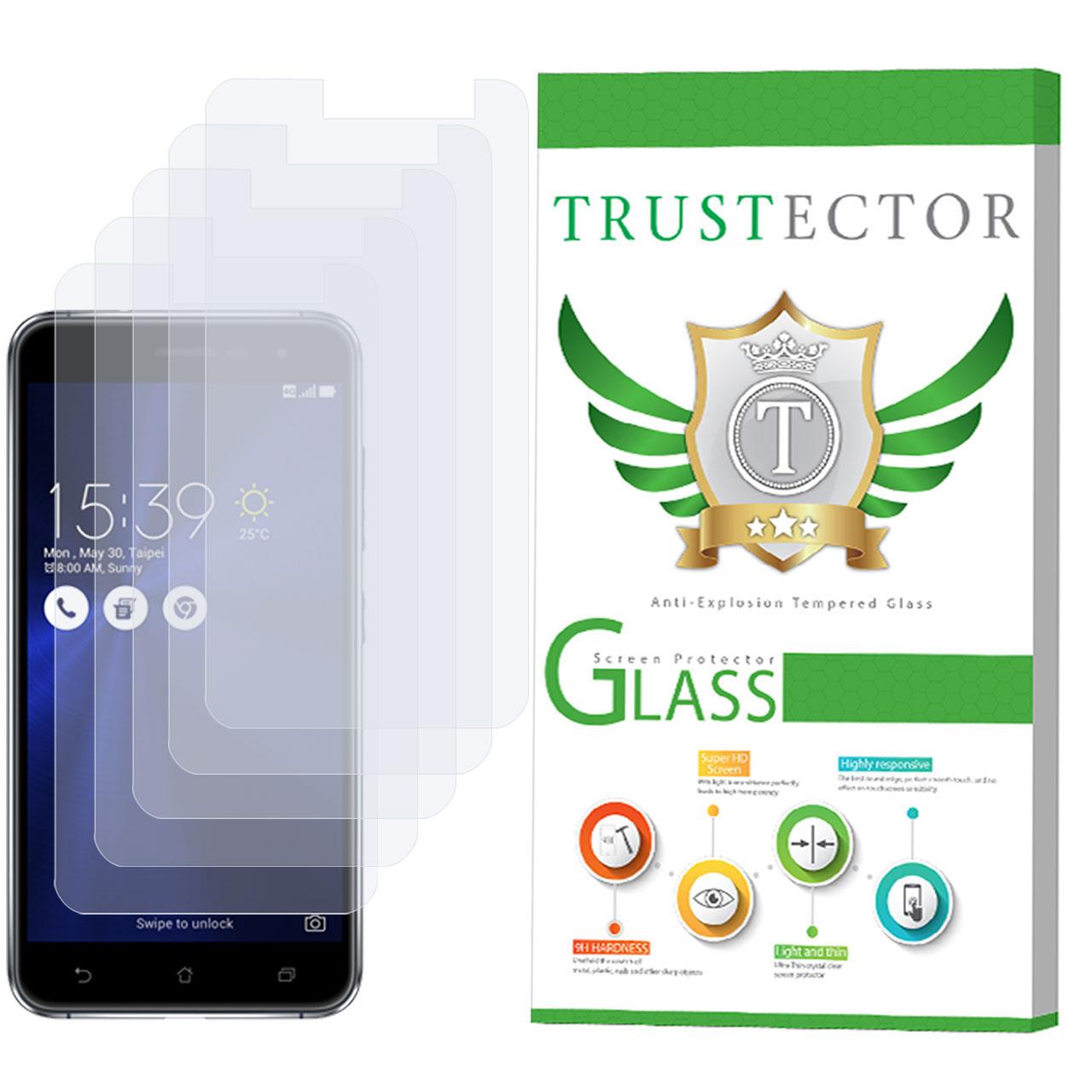 محافظ صفحه نمایش تراستکتور مدل GLS مناسب برای گوشی موبایل ایسوس مدل Zenfone 3 ZE520KL بسته 5 عددی              ( قیمت و خرید)