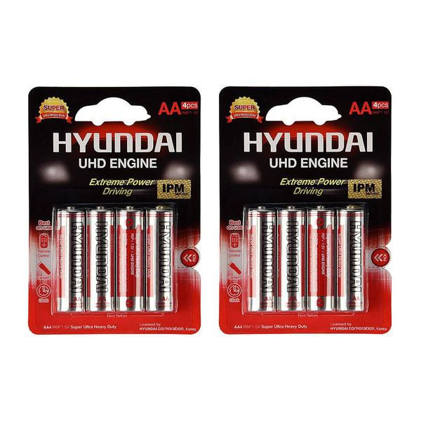 باتری قلمی هیوندای کد 405 بسته 8 عددی