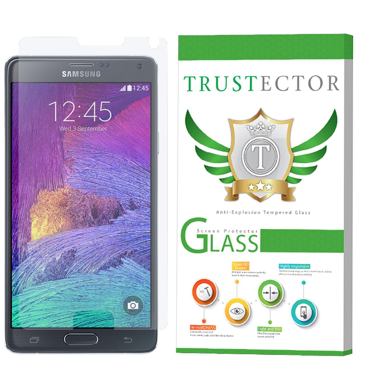 محافظ صفحه نمایش تراستکتور مدل GLS مناسب برای گوشی موبایل سامسونگ Galaxy Note 4              ( قیمت و خرید)