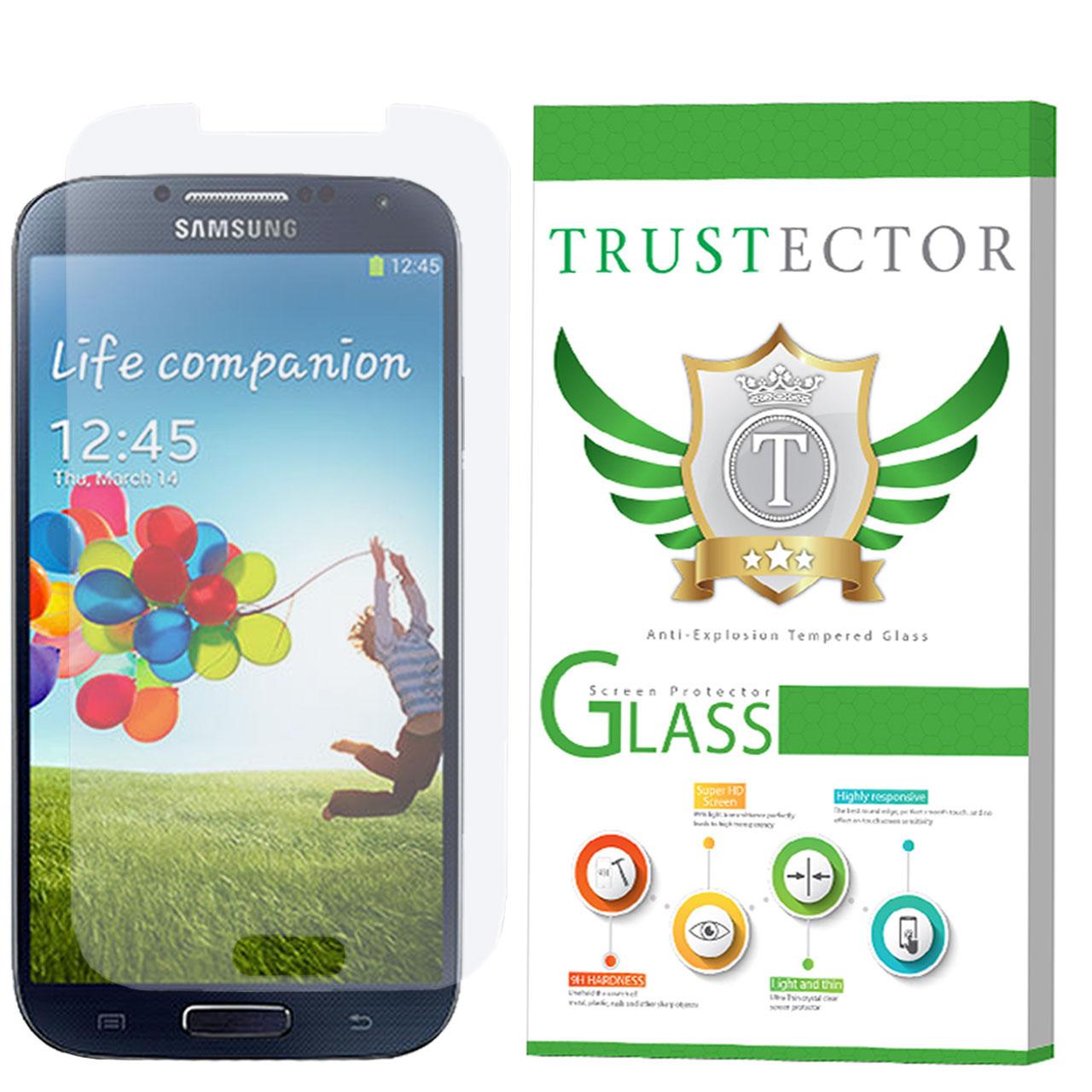 محافظ صفحه نمایش تراستکتور مدل GLS مناسب برای گوشی موبایل سامسونگ Galaxy S4              ( قیمت و خرید)