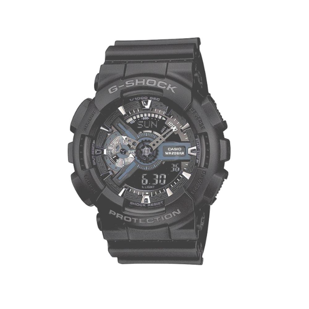 ساعت عقربه ای مردانه کاسیو مدل جی شاک کد GA-110-1B