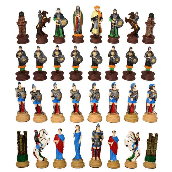 مهره شطرنج کد AVST34 مجموعه 32 عددی