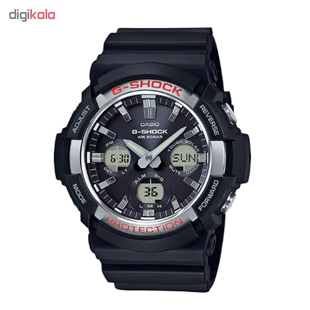 ساعت عقربه ای مردانه کاسیو مدل جی شاک کد GAS-100-1A