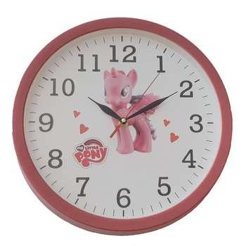 ساعت دیواری کودک طرح پونی کد C01