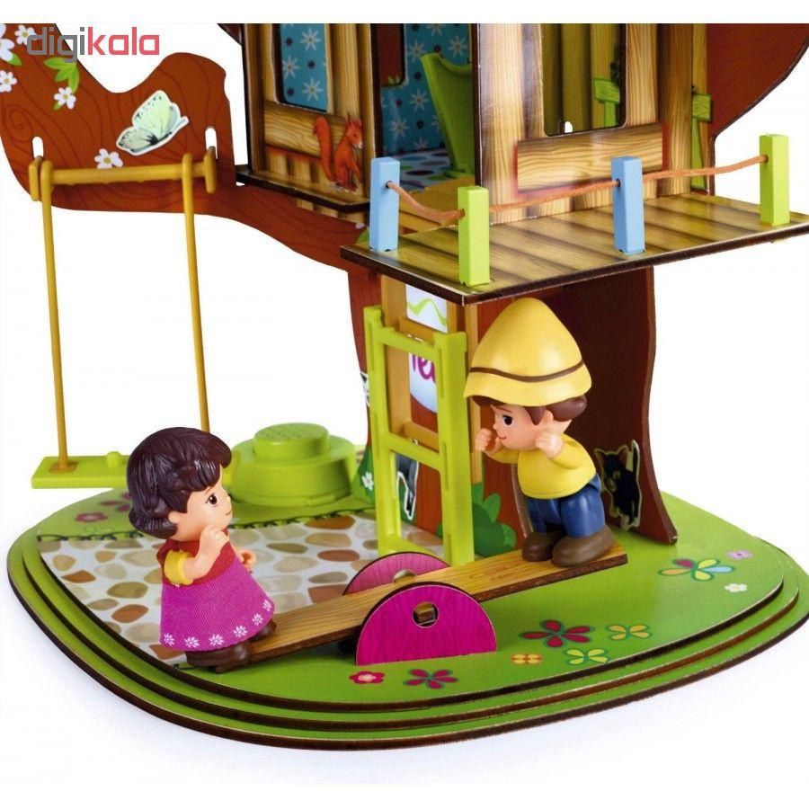 ساختنی فاموزا طرح خانه درختی هایدی مدل Treehouse 12931